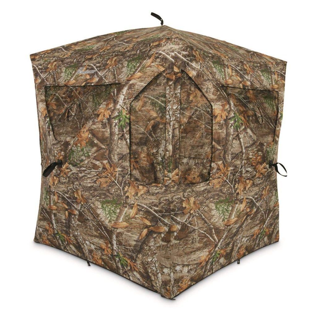 Ameristep Brickhouse Ground Blind.