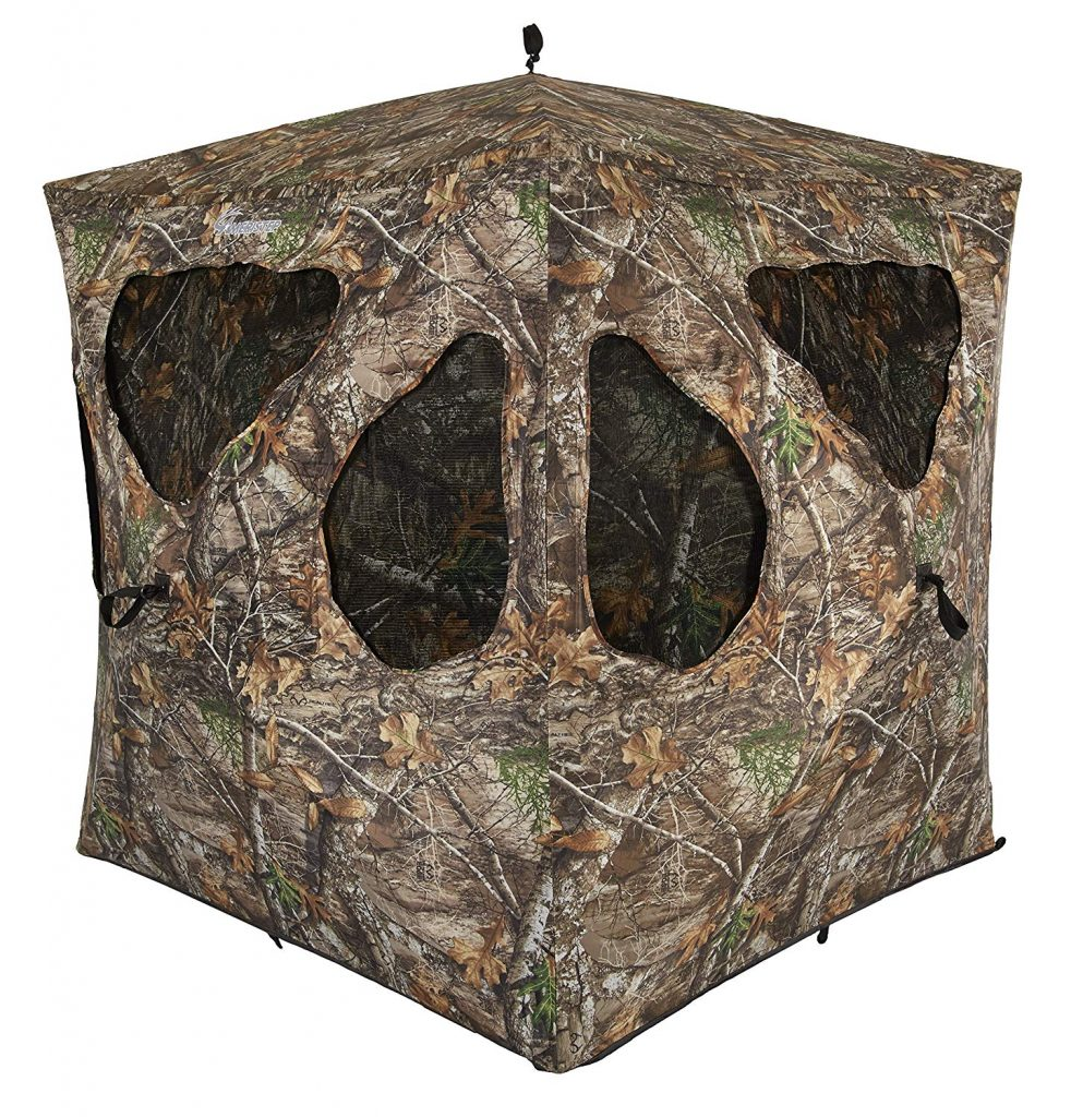 Ameristep Silent Brickhouse Ground Blind.