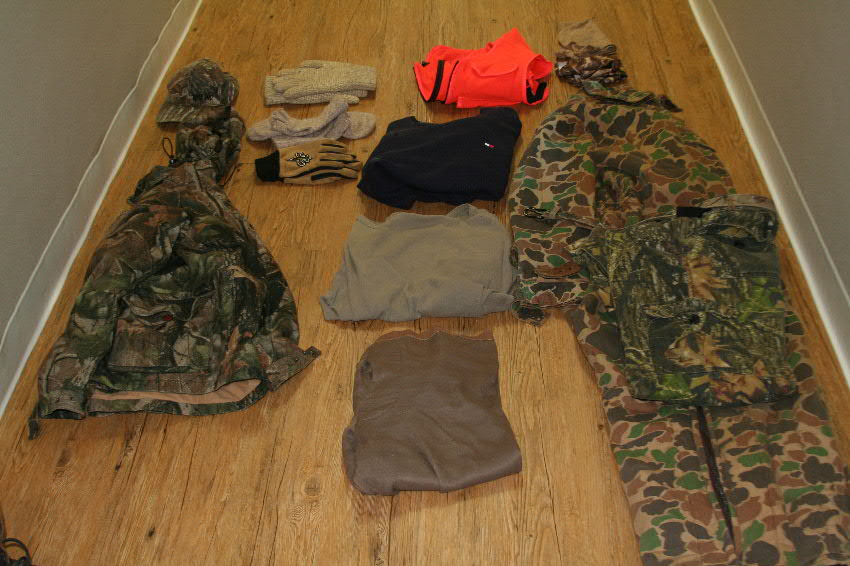 deer hunting clothing